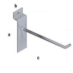 Plastična obešalna kljukica TIP WA13*, dimenzije izberete v meniju