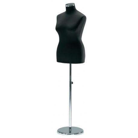Ženski torzo XL na kovinski okrogli nogi