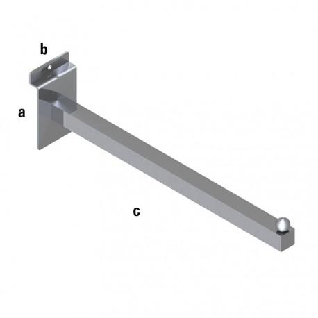 Ravna obešalna roka 310mm, TIP WA44B