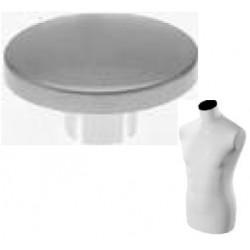 Pokrovček za torzo, siv, fi 89mm