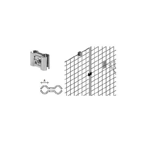 Vzporedni spojnik/objemka dveh mrež, krom, fi10, fi 10