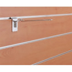 Dvojna obešalna kljukica, 200mm, krom