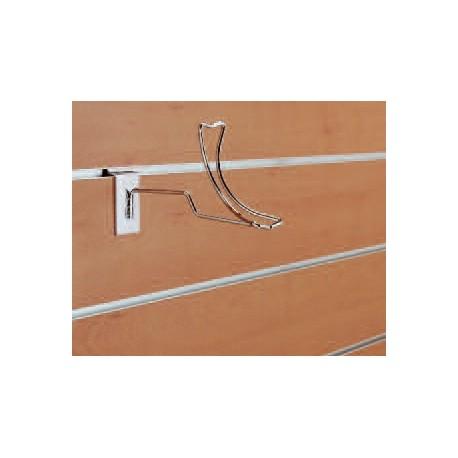 Nosilec za čevelj, 180 x 100 mm, krom
